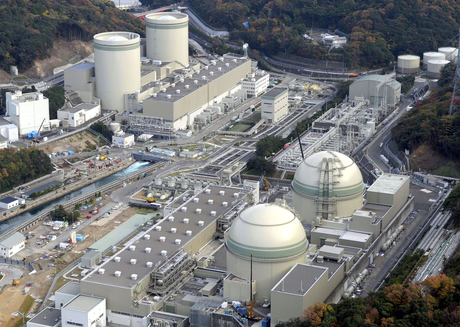 Takahama/ Japan/ Atomkraft