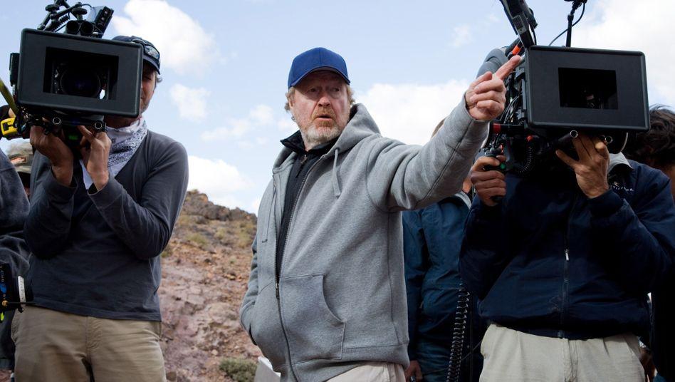 Filmregisseur Ridley Scott: Ausflug ins Grüne