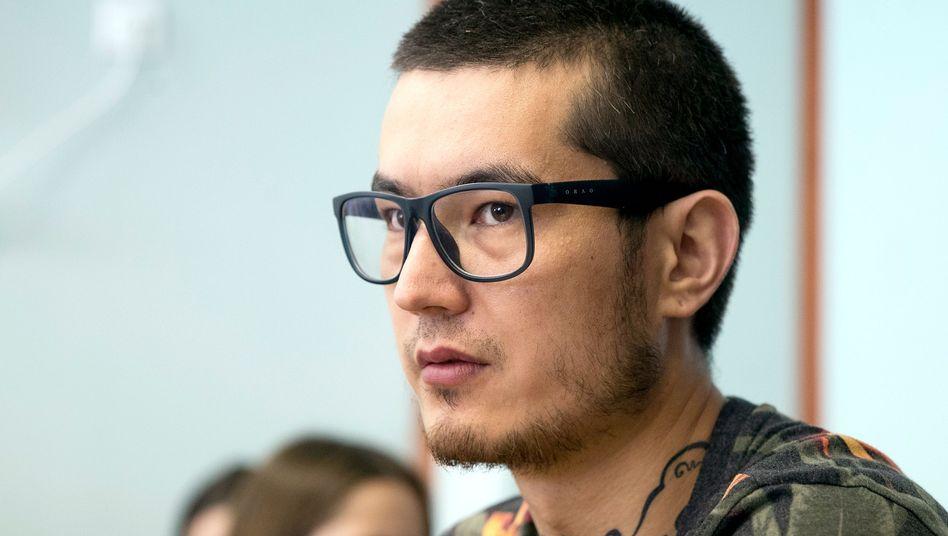 Ali Ferus vor Gericht in Moskau im August 2017