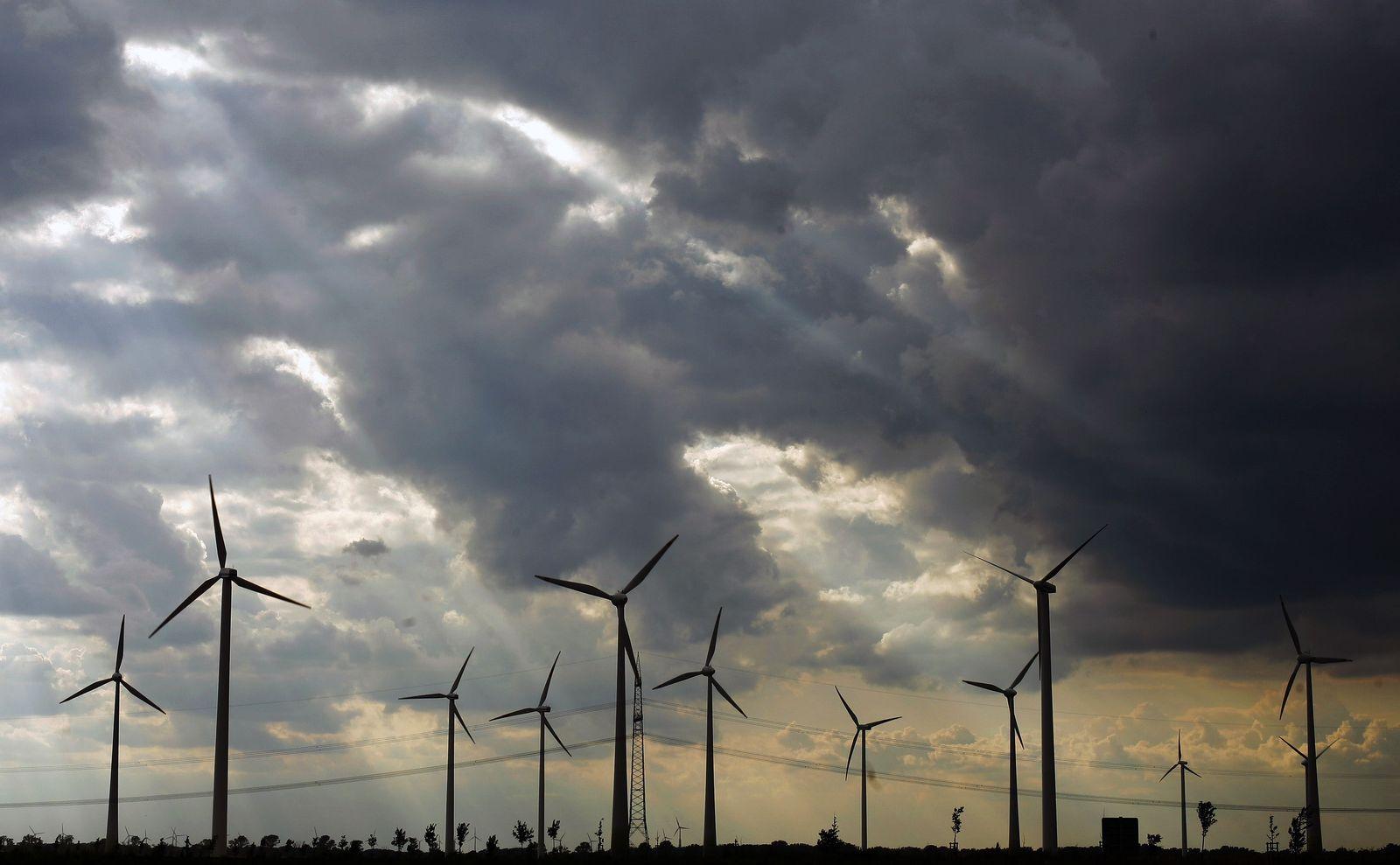 Klimawandel / Windpark