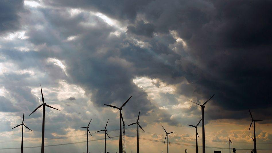 Windpark bei Leipzig
