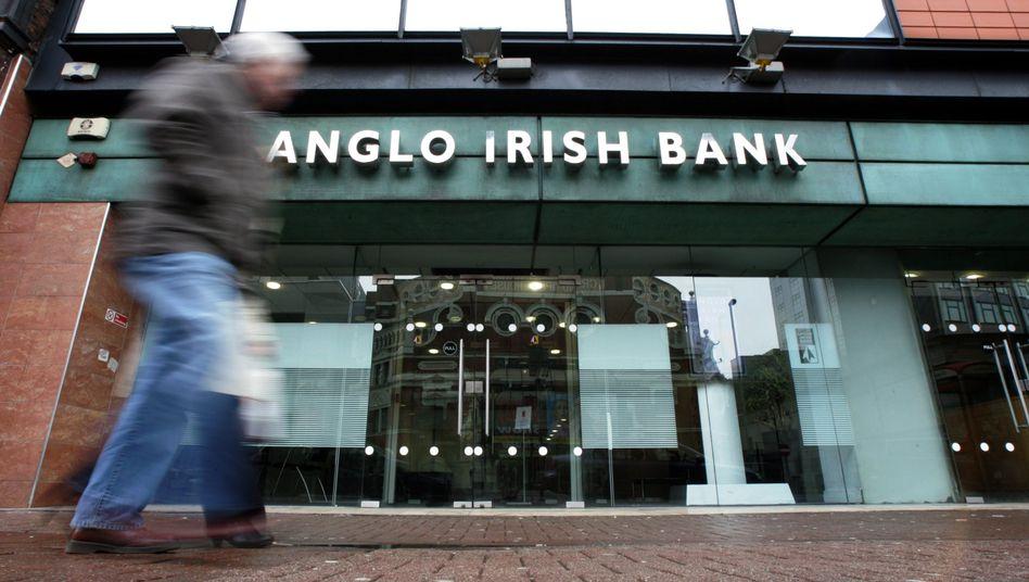 """Filiale der Anglo Irish Bank in Belfast: """"Das ist eine neue Dimension"""""""