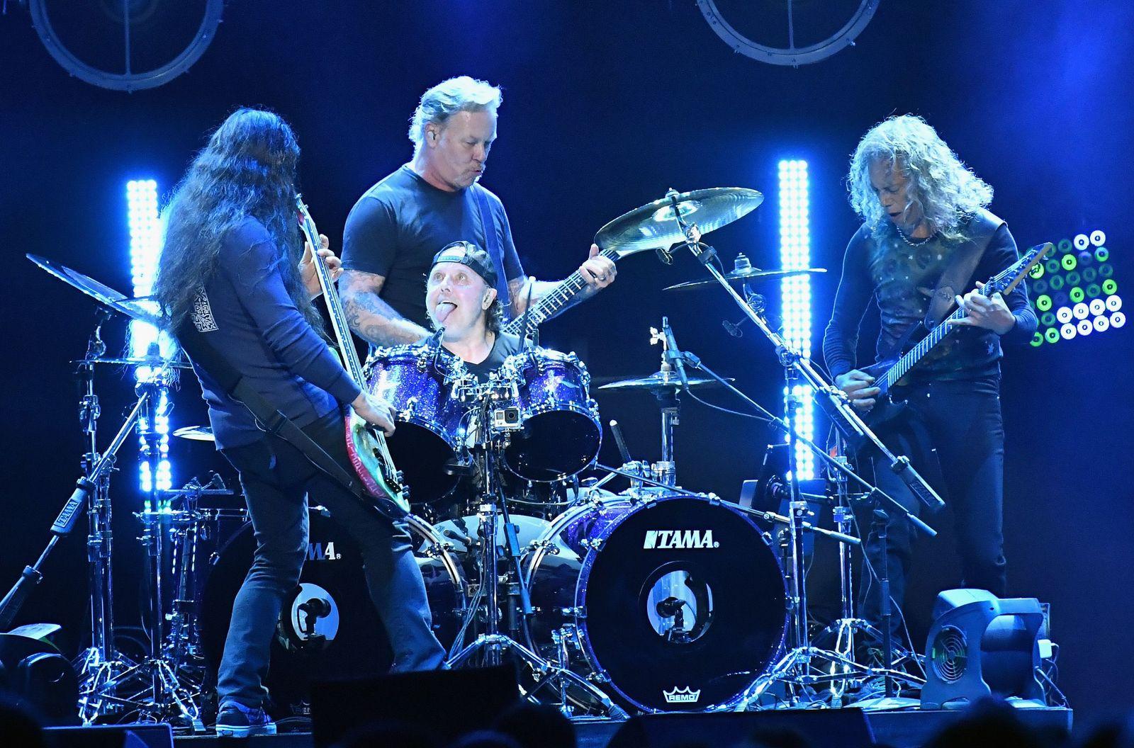 EINMALIGE VERWENDUNG Metallica