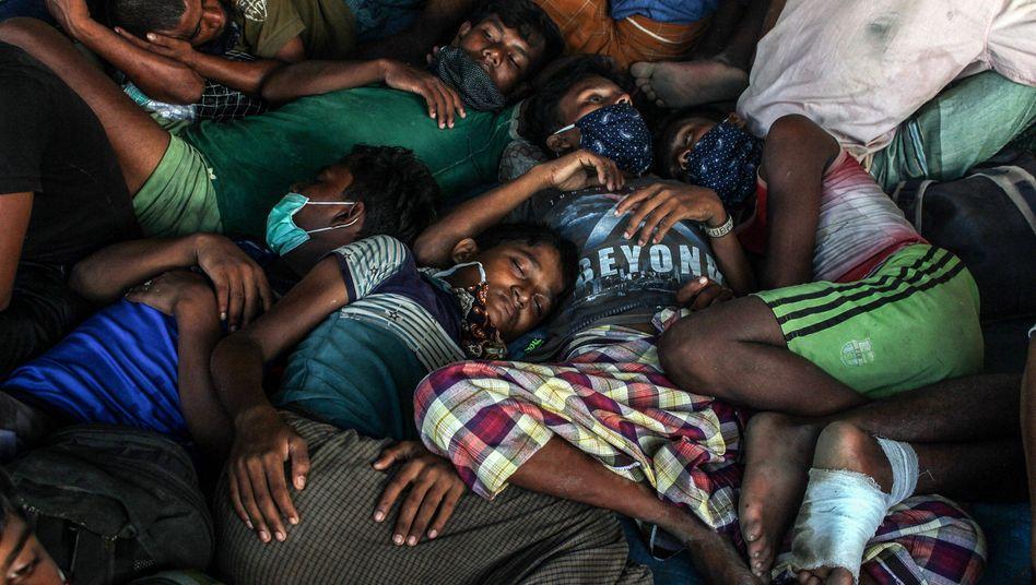Tod oder Flucht - für viele Rohingya war und ist das Realität seit 2017