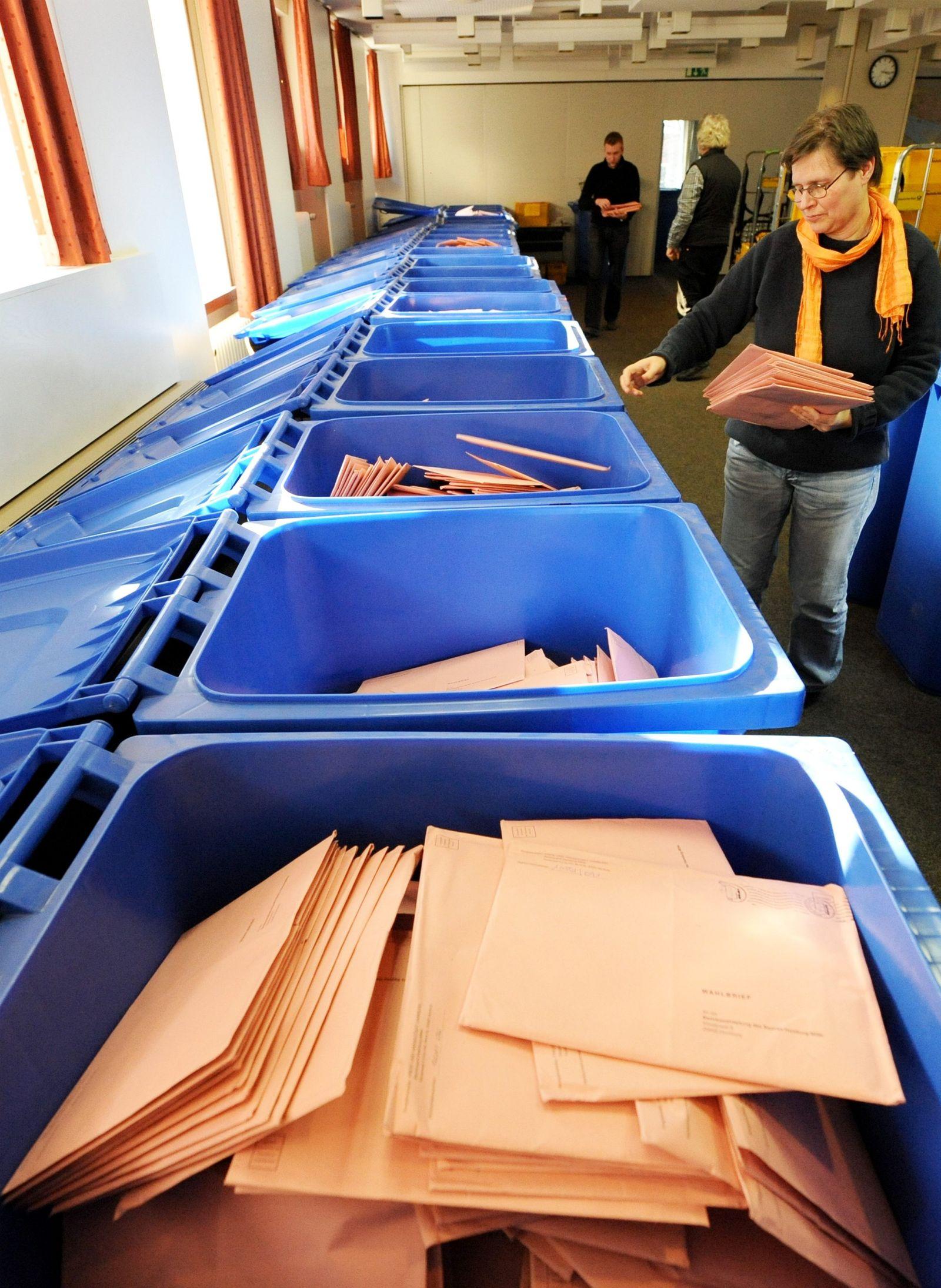 Briefwahlrekord bei Hamburg-Wahl