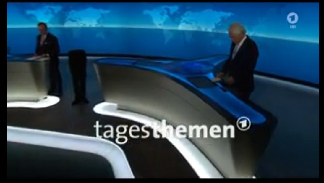 NUR ALS ZITAT Screenshot / Tagesthemen 22.45 / 18.10.2015