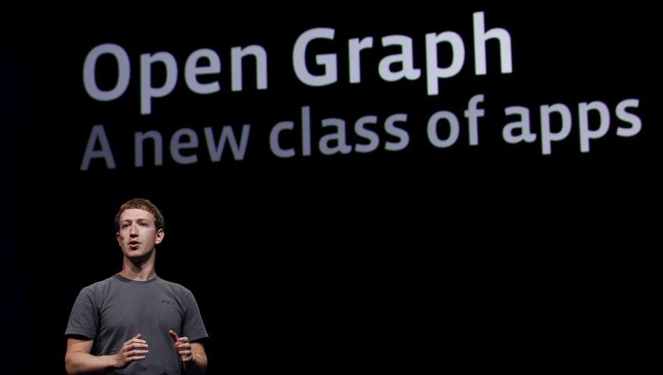 Facebook-Gründer Zuckerberg: Konservative Kalkulation beim Börsengang