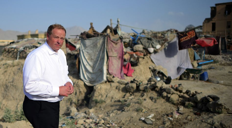"""Entwicklungsminister Niebel (im August in Kabul): """"Der Horst braucht Aufmerksamkeit"""""""