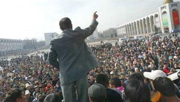 Kirgisien: Aufruhr in Bischkek