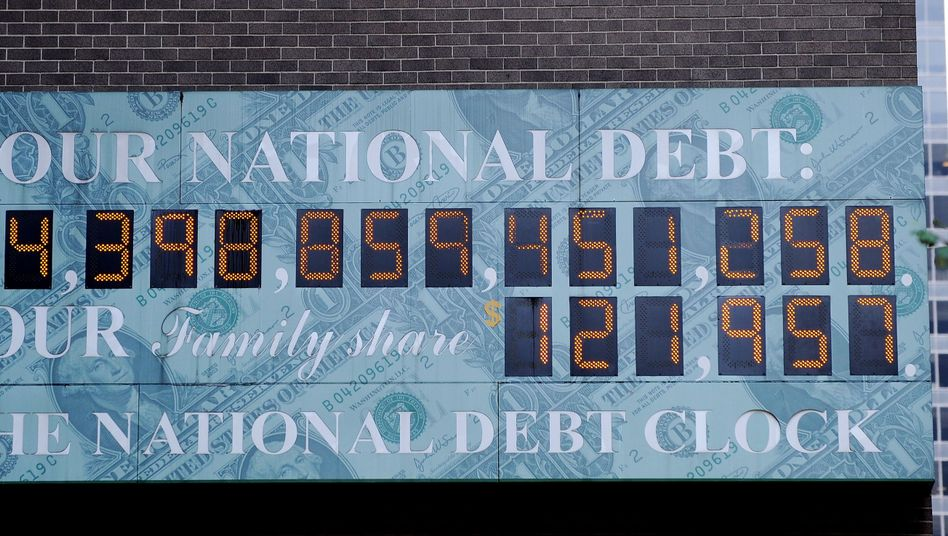 Washington is having trouble getting its debt under control.