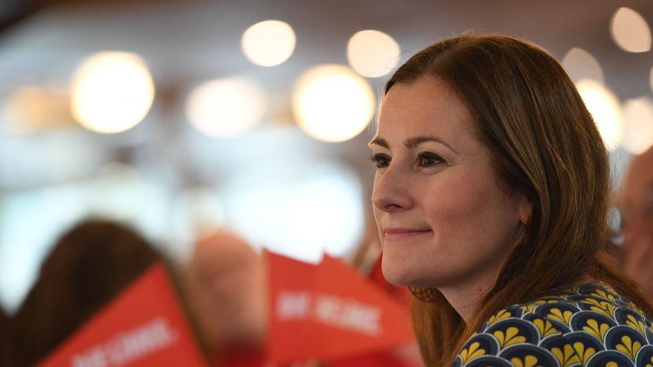 Favoritin für den Linken-Vorsitz: Janine Wissler