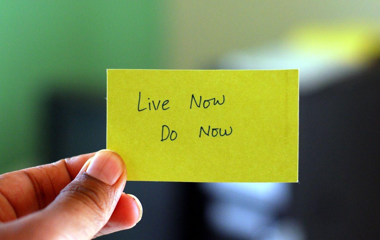 EINMALIGE VERWENDUNG SYMBOLBILD Vorstze / Live now do now