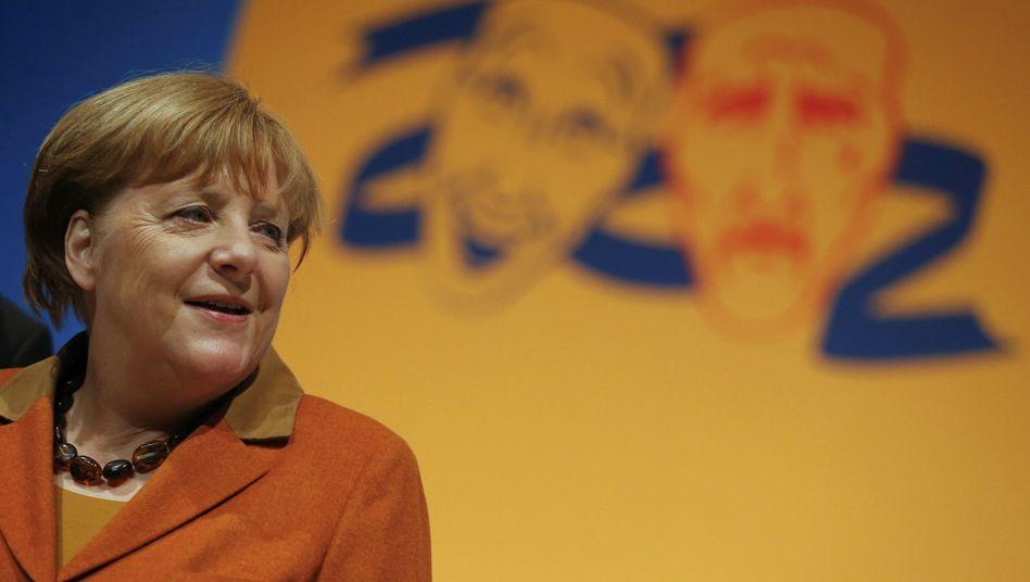 """Merkel beim politischen Aschermittwoch: """"Wir fordern Yücels Freilassung"""""""