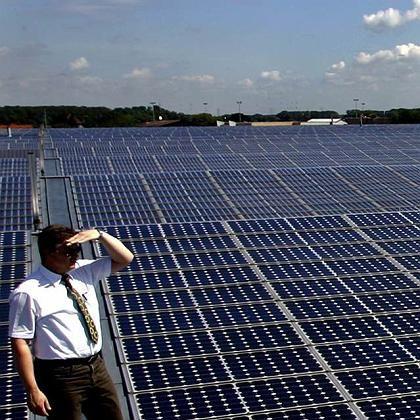 Solaranlage (in Bürstadt): Glänzende Aussichten