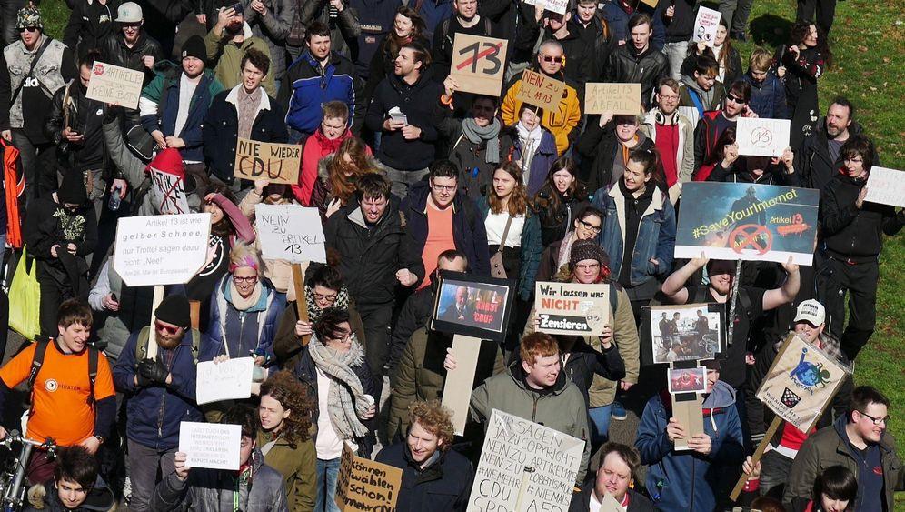 Demos in deutschen Städten: Protest gegen Artikel 13