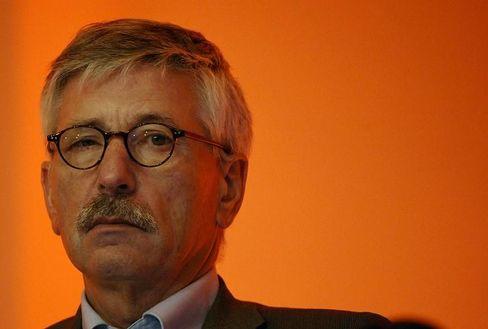 """Finanzsenator Sarrazin: """"Ich habe es überlebt"""""""