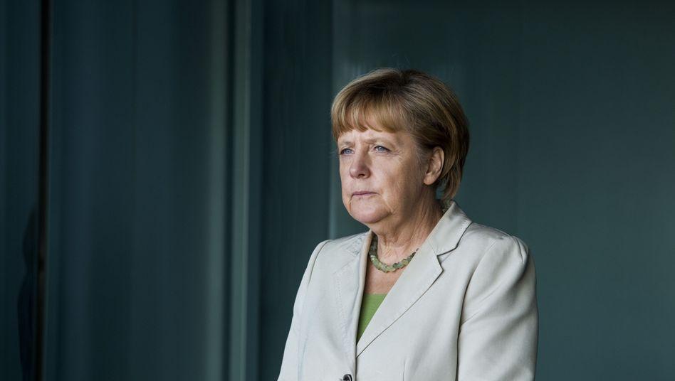 """Kanzlerin Angela Merkel: """"Ich habe nie gesagt, dass wir mit denen nicht reden"""""""