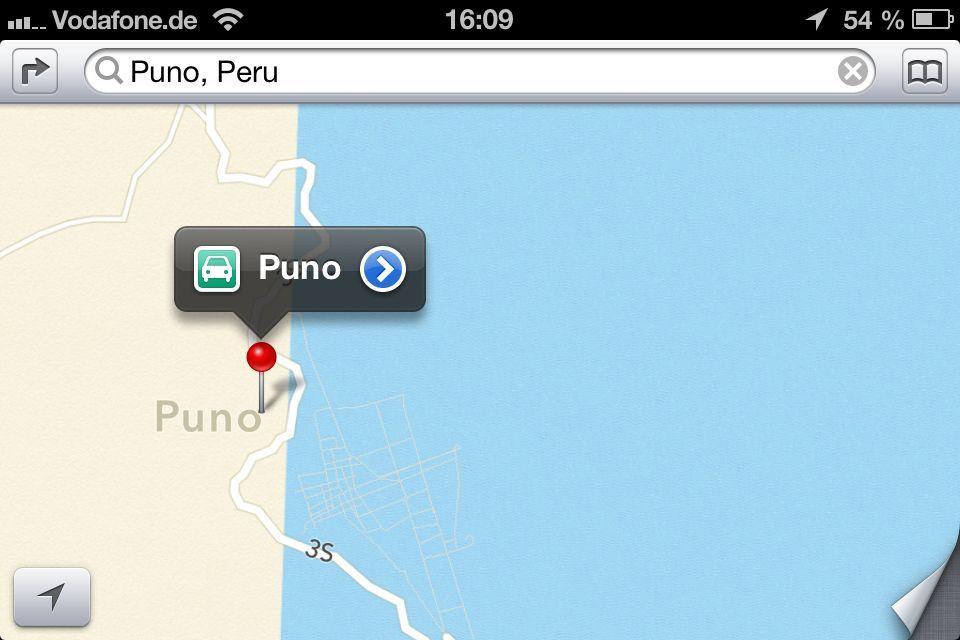 Apple maps / iO6