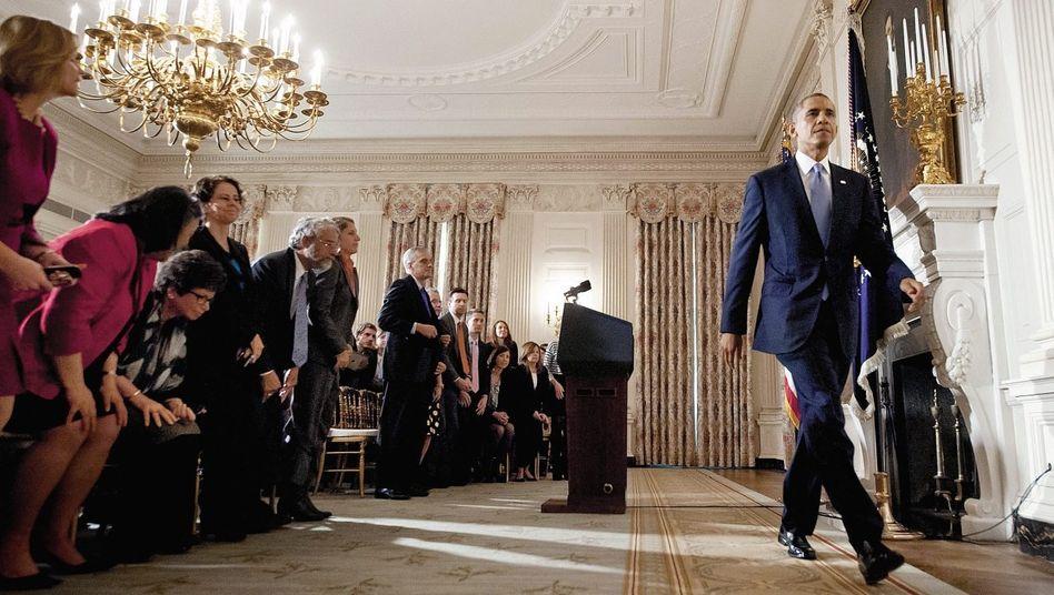 Präsident Obama nach dem Ende des Haushaltsstreits: Konnte sich Amerika das wirklich leisten?