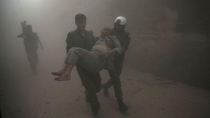 Russische Offensive in Syrien: Bomben ohne Folgen