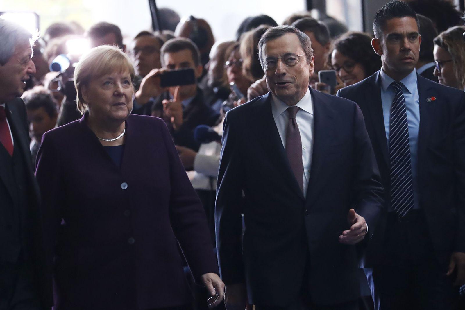 EINMALIGE VERWENDUNG Wirtschft/ ECB/ Abschied Graghi
