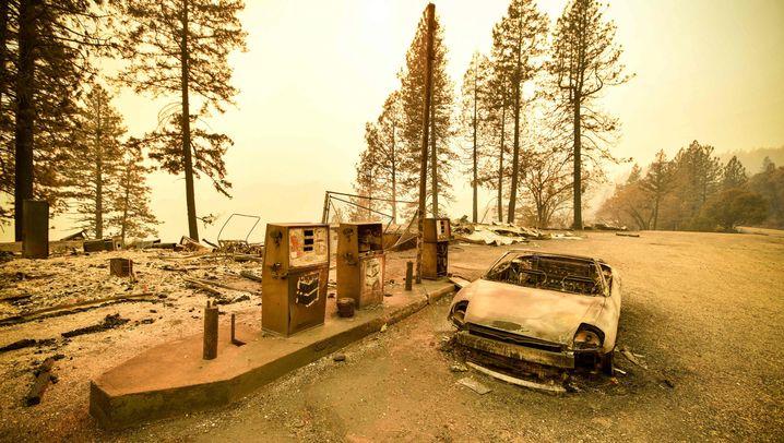 Kalifornien: Die Zerstörung in Paradise