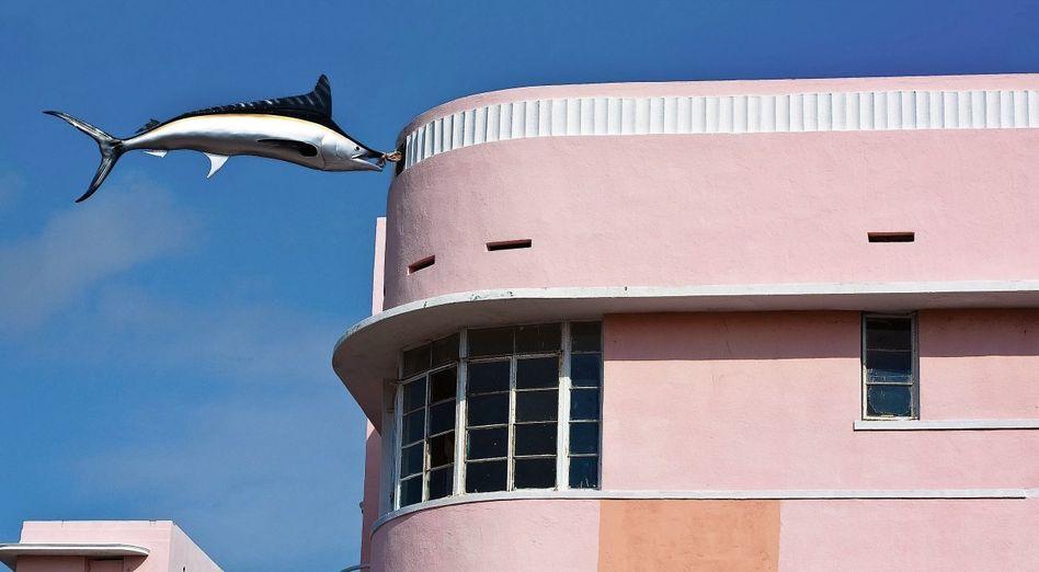 Kunstinstallation in Miami Beach