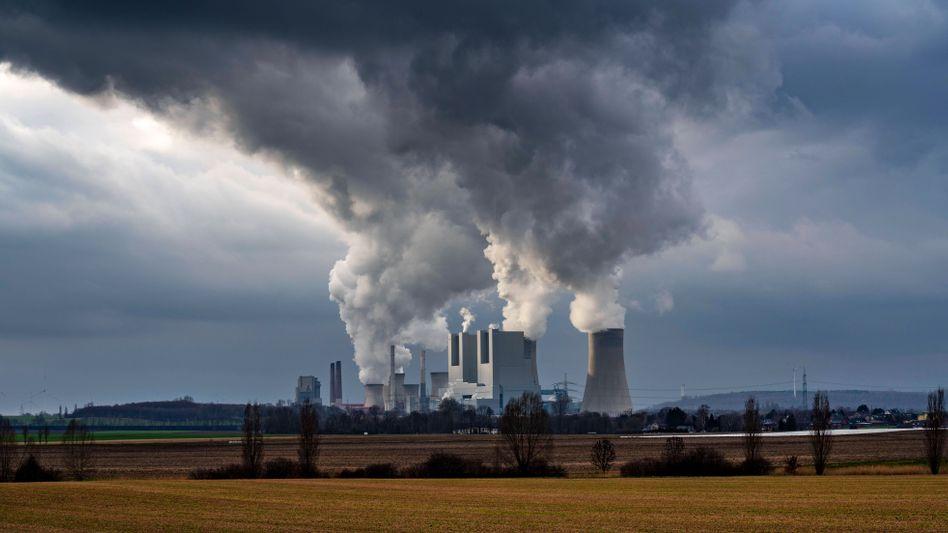 Braunkohle-Kraftwerk Neurath bei Grevenbroich
