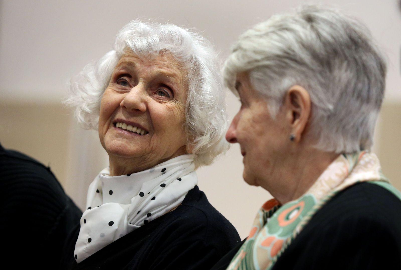 Auschwitz Prozess / Lüneburg / Eva Pusztai-Fahidi