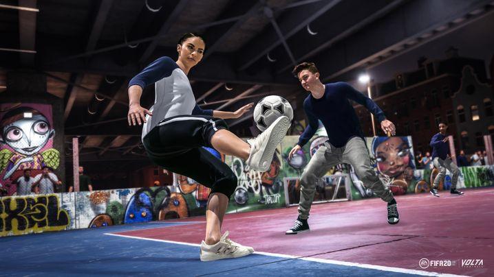 """Frauen gegen Männer auf einem Feld - Premiere in """"Fifa 20"""""""