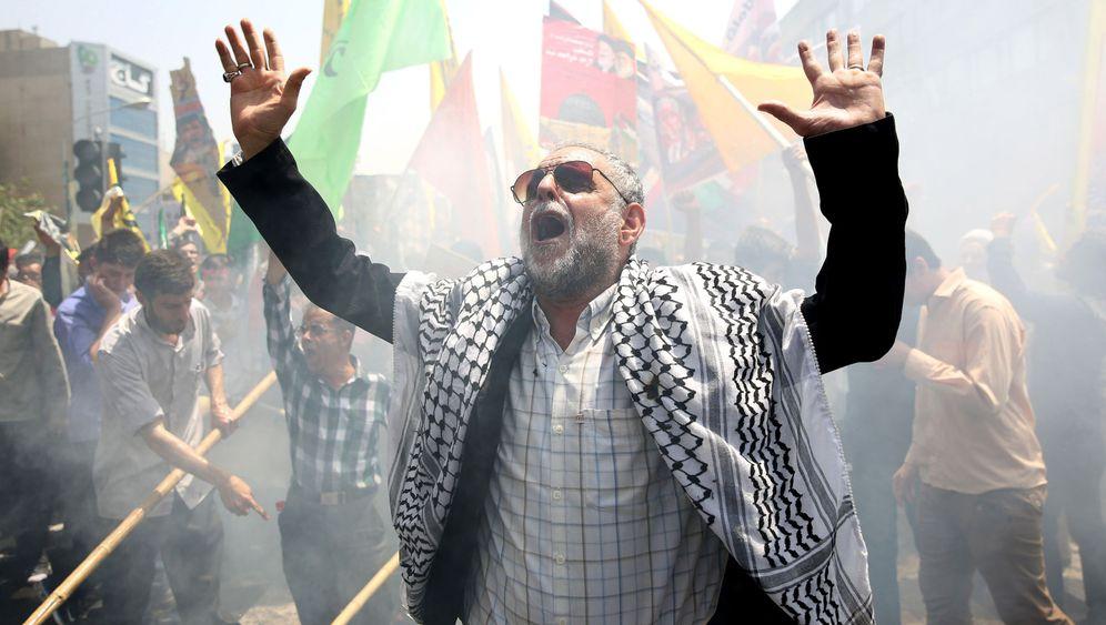 Nahost-Krise: Hunderttausende Iraner protestieren gegen Israel