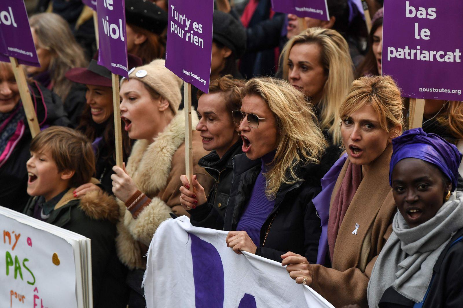 FRANCE-PROTEST-WOMEN-VIOLENCE