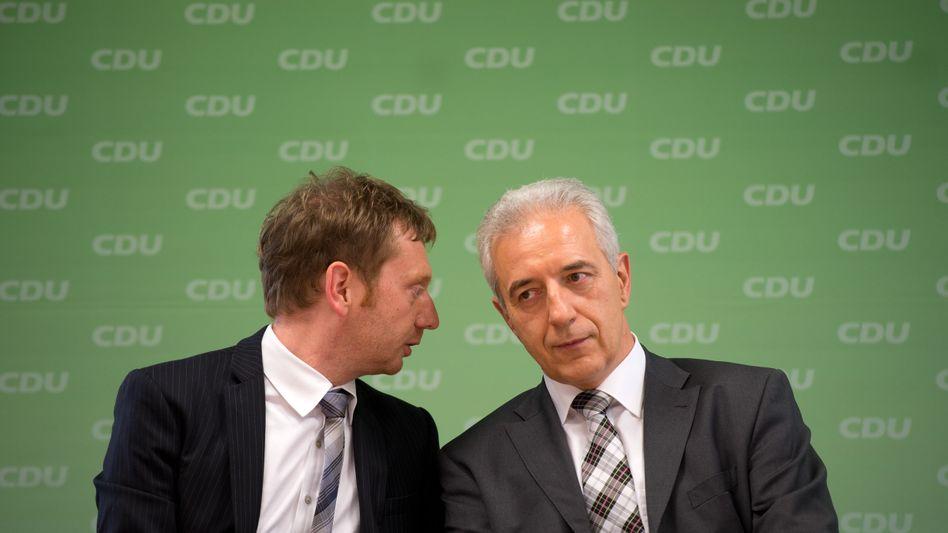 CDU-Politiker Kretschmer, Tillich