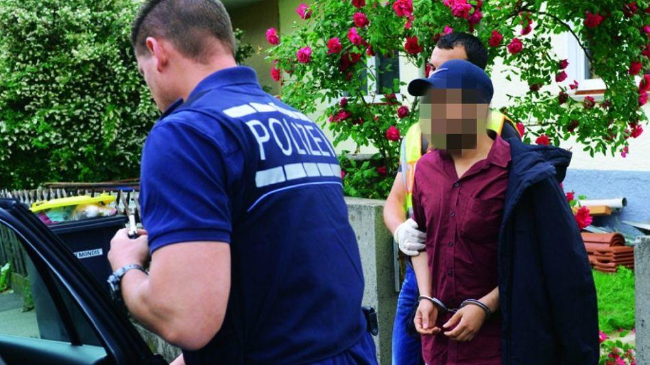 Verdächtiger in Fellbach