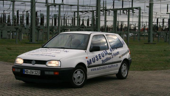 VW Golf City-Stromer: Mit der Sonne im Tank