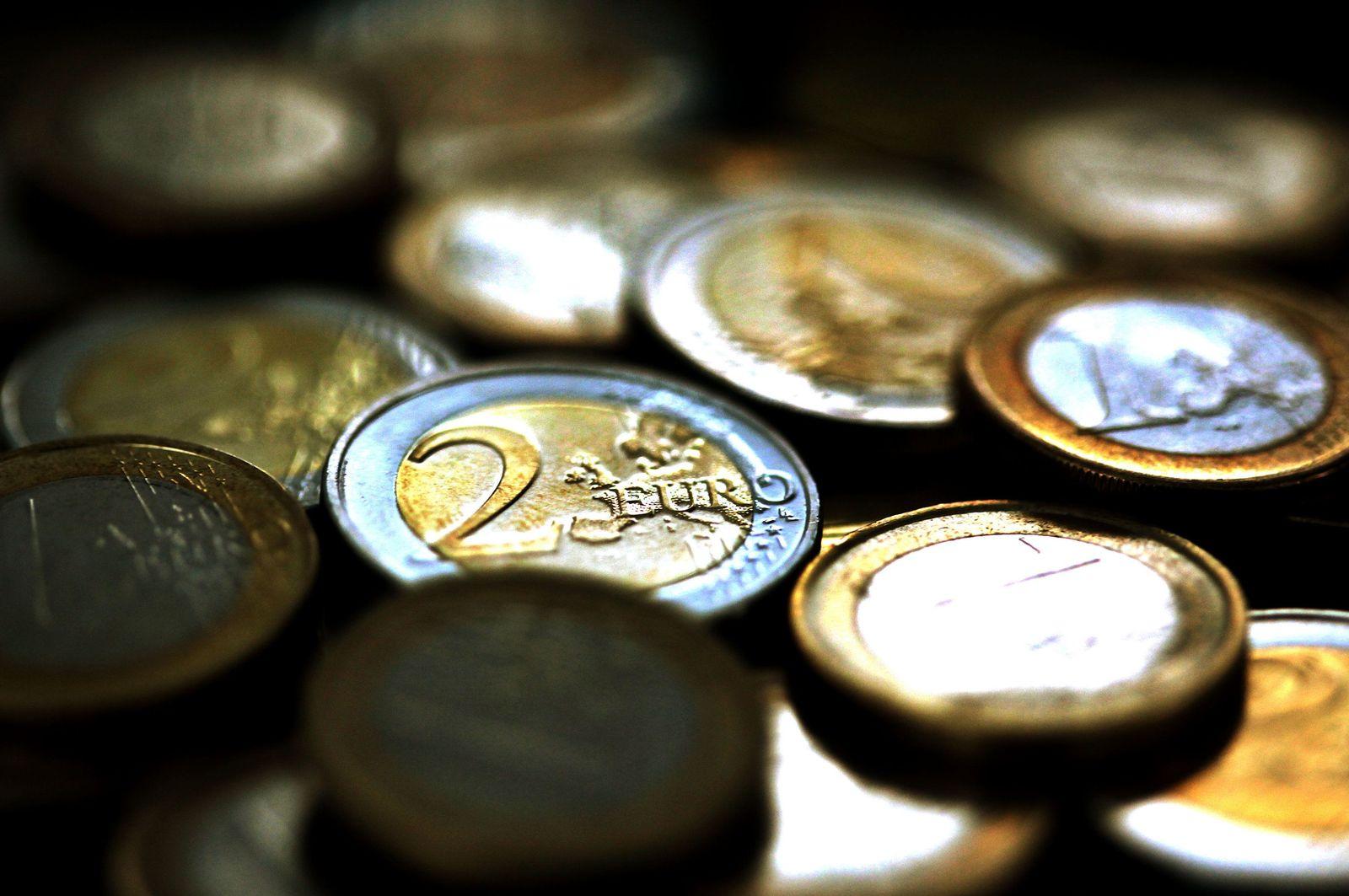 Euro coins Münzen