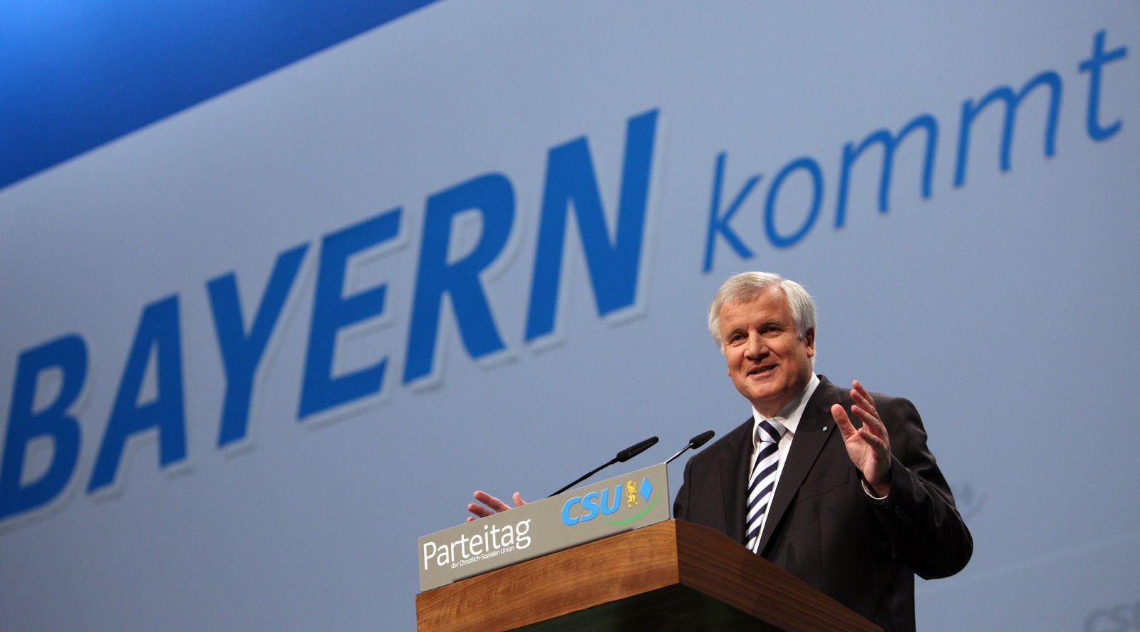 CSU-Parteitag/ Horst Seehofer