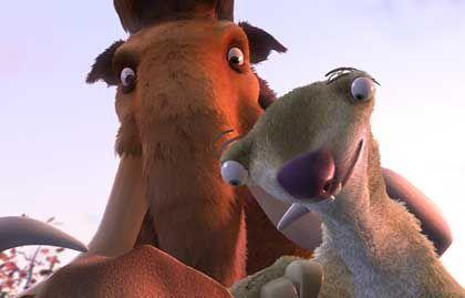 Partner wider Willen: Mammut Manny und Faultier Sid