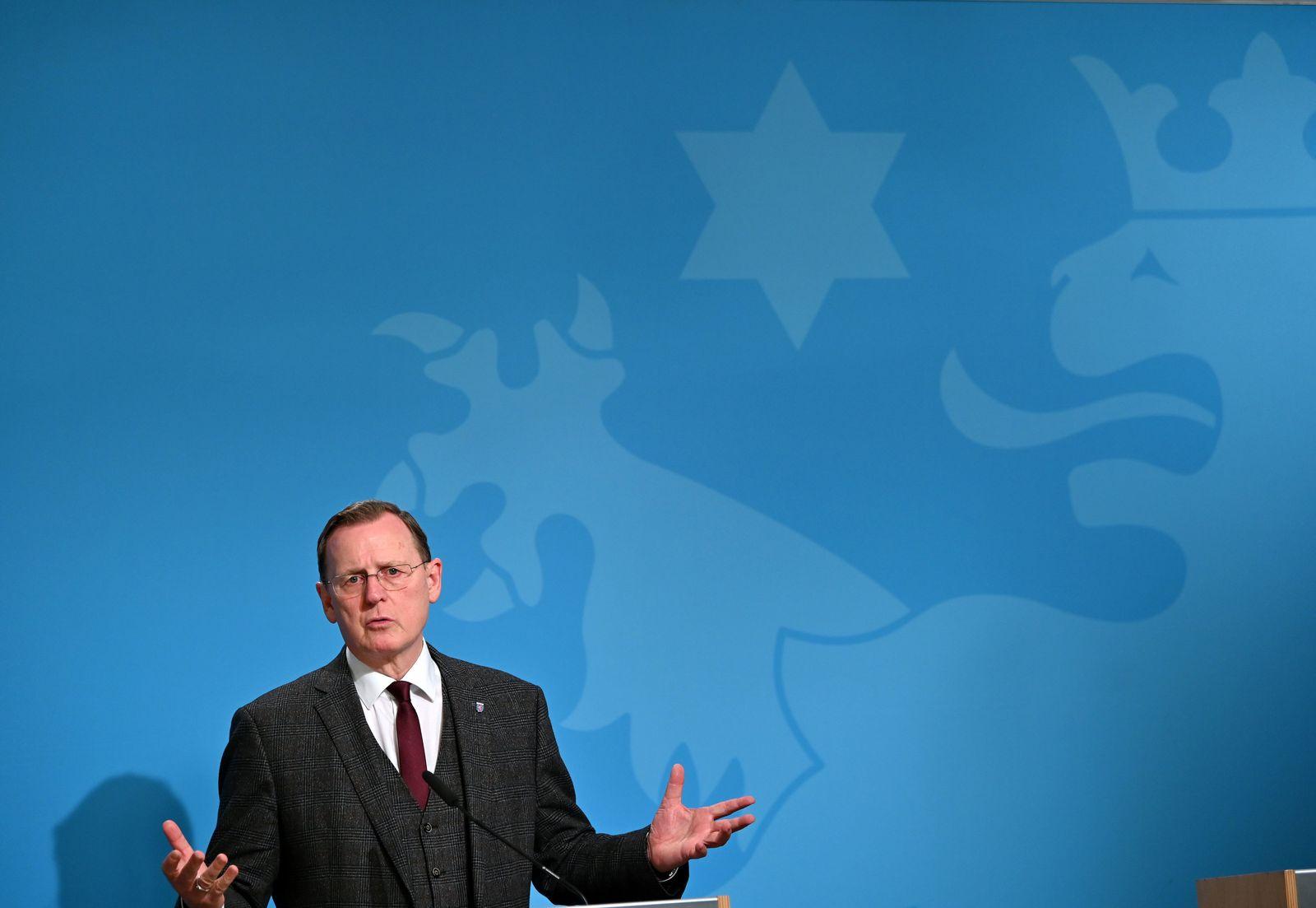 Nach Videokonferenz von Bundeskanzlerin und Ministerpräsidenten