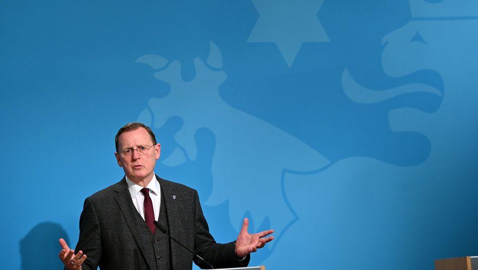 Bodo Ramelow (Linke), Ministerpräsident von Thüringen