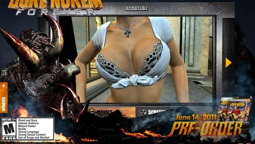 Frauen als Pixelware: Duke Nukem ist zurück