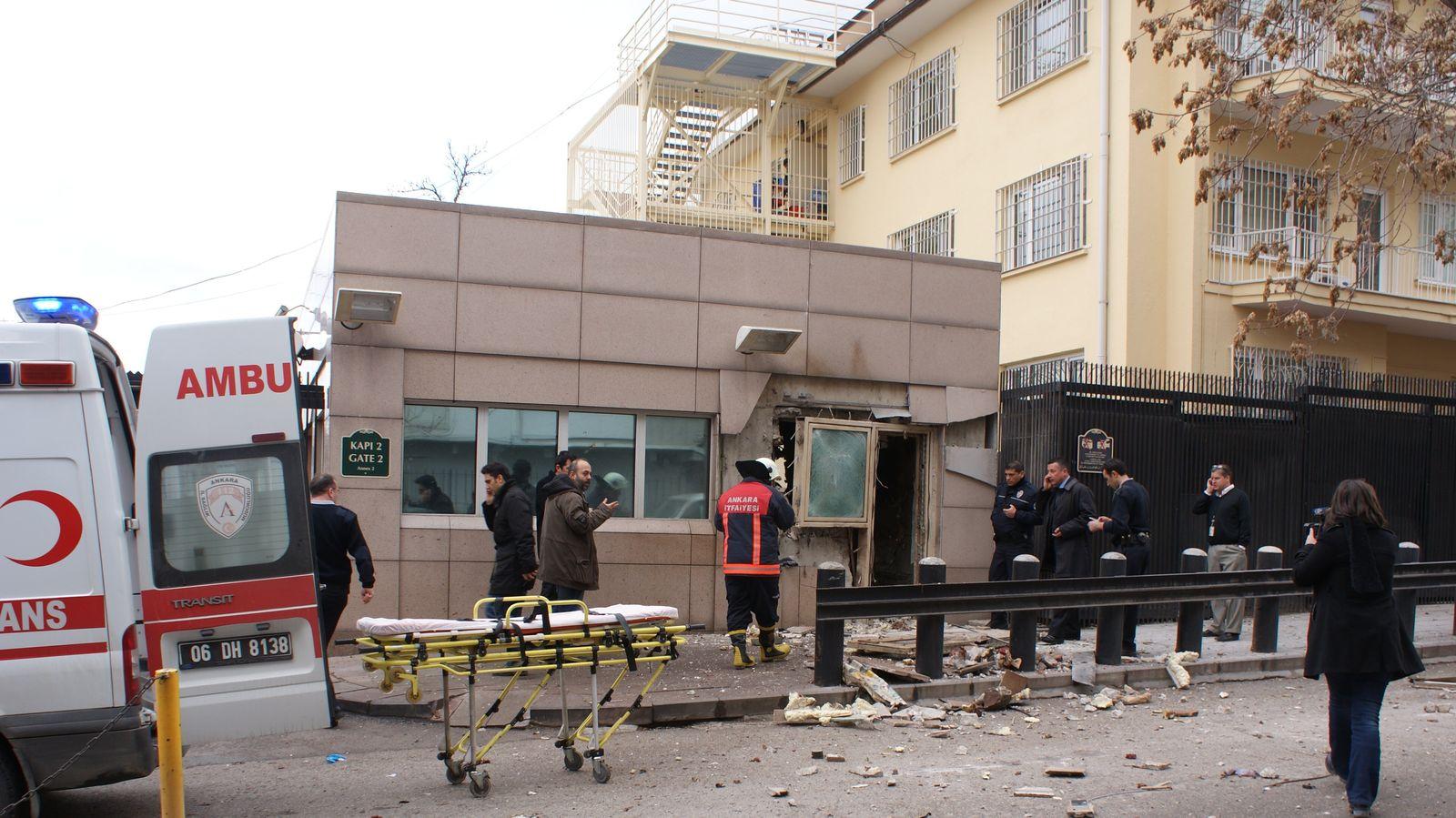 Türkei/ Ankara/ US Botschaft/ Explosion