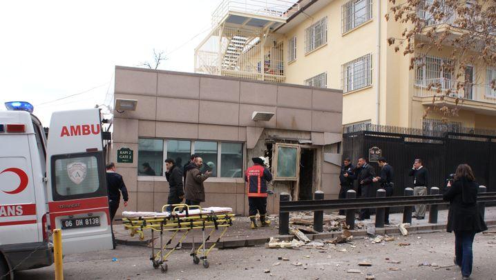 Ankara: Bombenalarm im Botschaftsviertel