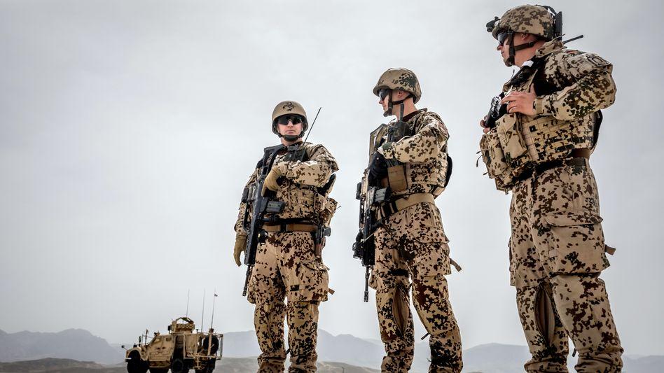 Bundeswehrsoldaten in Masar-i-Scharif im Jahr 2018: Brenzlige Lage