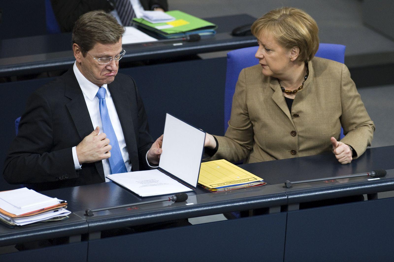 Angela Merkel / Guido Westerwelle