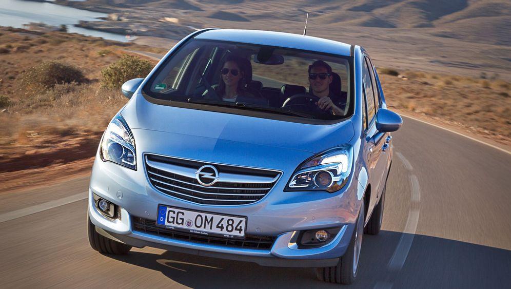 Autogramm Opel Meriva: Der Schweiger unter der Haube
