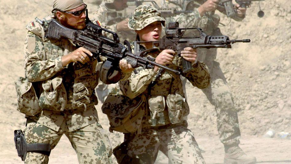 """Bundeswehr im Kampfeinsatz in Afghanistan: """"Schlechtes Bauchgefühl in der Sache"""""""