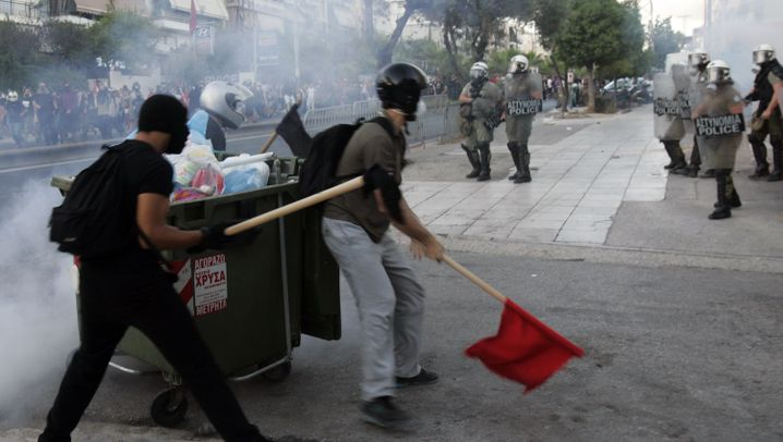 Goldene Morgenröte: Neonazi-Mord treibt Griechen auf die Straße