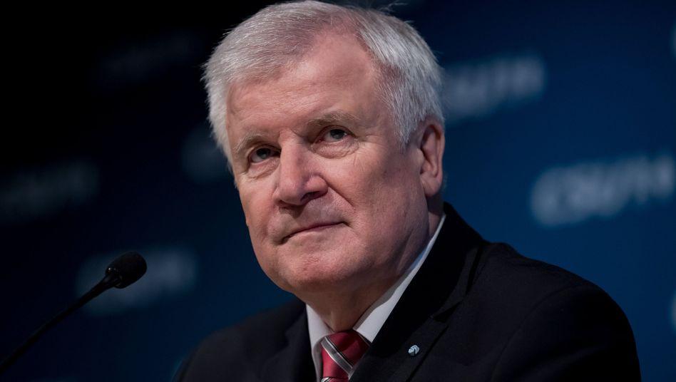 Bayerns Ministerpräsident und CSU-Chef Seehofer