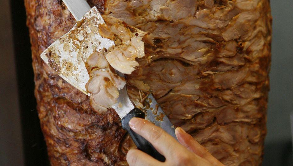Dönerspieß: Minderwertiges Fleisch ging vor allem an Berliner Dönerbuden